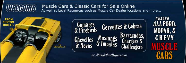 Muscle Cars for Sale, Classic Cars for Sale